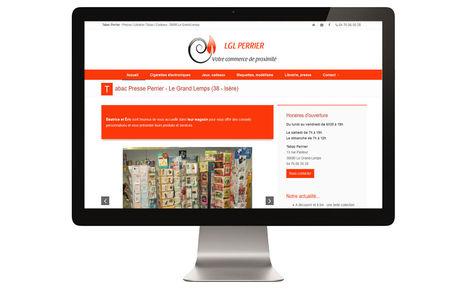 Le Tabac Perrier du Grand-Lemps relooke son site internet
