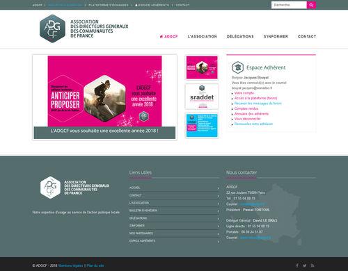 Association des Directeurs Généraux des Communautés de France