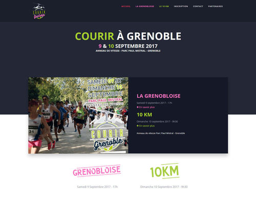 course grenoble grenobloise 10km