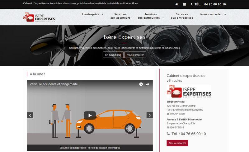 Isère Expertises, cabinet d'expertises automobiles