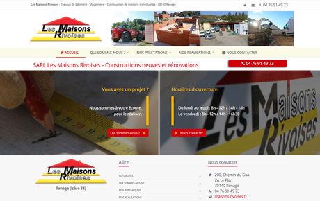 Les Maisons Rivoises - Constructions neuves et rénovations à Renage