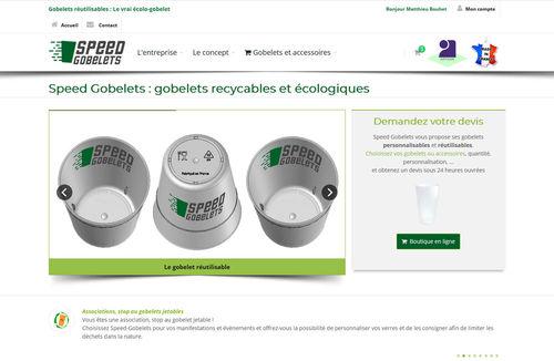 eco-goblets réutilisables, gobelets plastique personnalisables pas chers